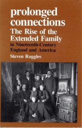 Prolonged Connections: The Rise of the Extended Family