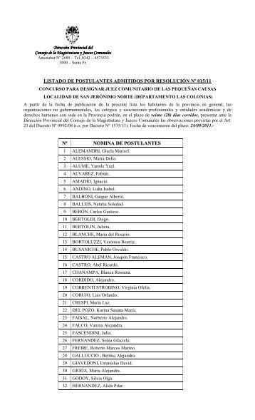 SAN JERONIMO NORTE - Gobierno de la Provincia de Santa Fe