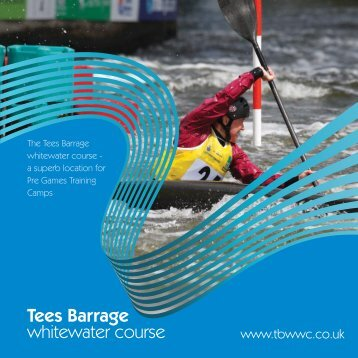 Tees Barrage whitewater course - Tees Active