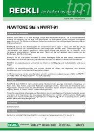 7900 Nawtone Stain NWRT-91 - RECKLI GmbH: Home