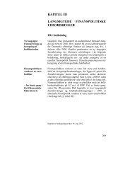 Kapitel III - De Økonomiske Råd