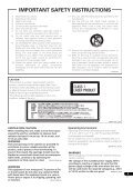Operating Instructions - Pioneer - Page 3