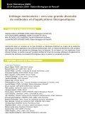 Criblage Moléculaire : Vers une Grande Diversité de ... - CNRS - Page 2