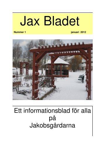 Ett informationsblad för alla på Jakobsgårdarna - Borlänge kommun