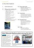 Weir Bulletin March 2007 - Weir Minerals - Page 2