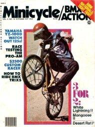 mongoose 77 minicycle test - Vintage Mongoose