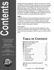 Product Catalog - Apologetics Press