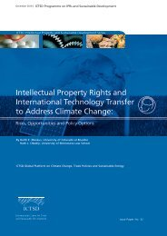 Intellectual Property Rights and International Technology Transfer to ...