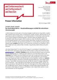 Artikel herunterladen - be Berlin - Berlin.de