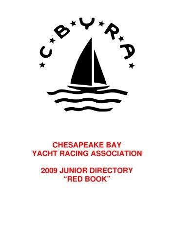red book - Chesapeake Bay Yacht Racing Association