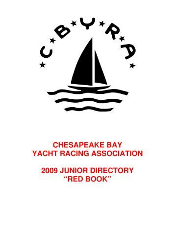 red book - Chesapeake Bay Yacht Racing Association