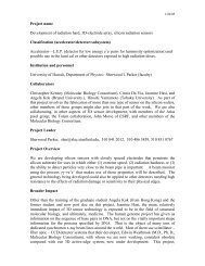 Development of radiation hard, 3D-electrode array, silicon radiation ...