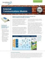 Módulo externo de comunicaciones - Silver Spring Networks