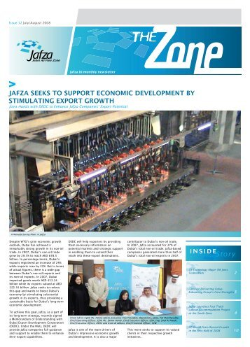 Issue 12 July/August 2008 - Jebel Ali Free Zone