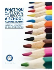 What You Must Know to Become a School Administrator - National ...