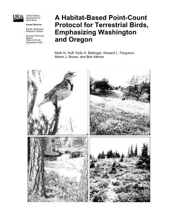 A Habitat-Based Point-Count Protocol for Terrestrial Birds ...
