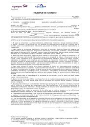 Descargar solicitud de reserva - Caja España-Duero