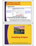 Java with Eclipse - Custom Training Courses - Coreservlets.com - Page 4