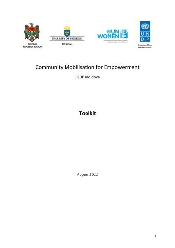 Community Mobilisation for Empowerment Toolkit - Descentralizare