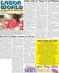 August 29, 2012 - Labor World