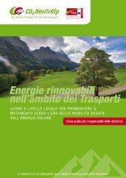 Energie rinnovabili nell'ambito dei Trasporti - CO2-NeutrAlp