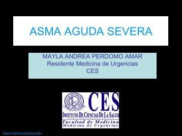 ASMA AGUDA SEVERA - Reeme.arizona.edu