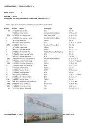 PROGRAMMANR. 1 – 7.000 M. HEREN all in Aantal prijzen: 3 ...