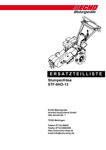 STF-9HO-13 - Gartentechnik-Bremen
