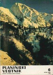 Junij - Planinski Vestnik