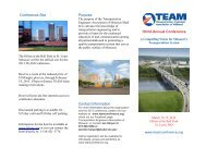 Conference Site Purpose Contact Information 103rd Annual ...