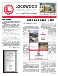 Hurricane Ike - Lockwood International