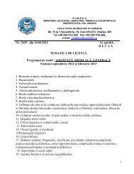 Asistență Medicină generală - Facultatea de Medicina si Farmacie ...