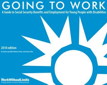 Going to Work - Institute for Community Inclusion