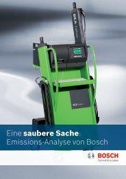 Eine saubere Sache: Emissions-Analyse von Bosch