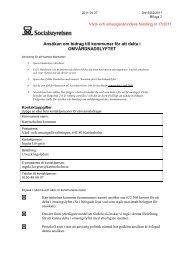 17/2011 Ansökan om bidrag till kommuner för att delta i ...