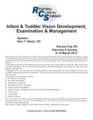Kansas City RCS 362 web brochure.indd - Optometric Extension ...