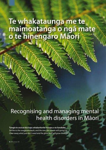Te whakataunga me te maimoatanga o ngā mate o te ... - Bpac.org.nz