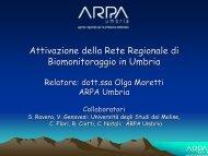 O. Moretti / Arpa Umbria