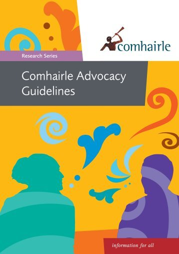 Comhairle Advocacy Guidelines