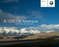 Katalog R 1200 GS Adventure - BMW Motorrad Österreich