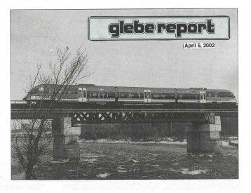 Glebe Report - Volume 32 Number 4 - April 5 2002