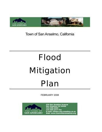 San Anselmo Flood Mitigation Plan - Hazard Mitigation Web Portal