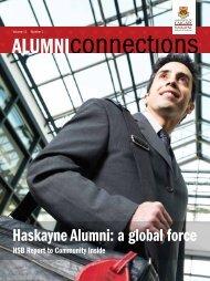 Haskayne Alumni: a global force - Haskayne School of Business