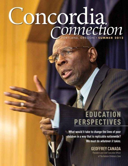 "Summer 2012 - ""Education Perspectives"" - Concordia University"