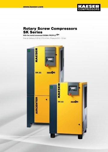 SK 11–15 kW - Kaeser Compressors
