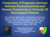 Comparison of Prognostic Accuracy between Neurointensivists and ...