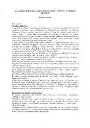 Scarica il testo della relazione - Regione Campania