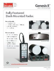 decatur radar catalog