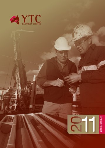 2011 Annual Report - YTC Resources