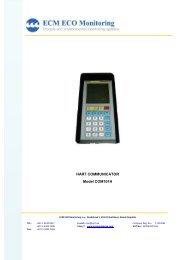 HART communicator.pdf - ECM ECO Monitoring